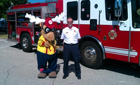 Drug Awareness Program  Mascot Elroy the Elk